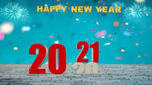 happy new year editing background 2021