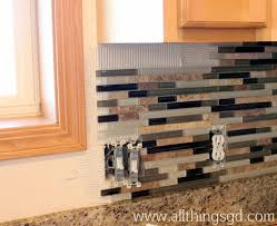 How To Do A Kitchen Backsplash Tile Shop Tuesday Applying Tile All Things Gd