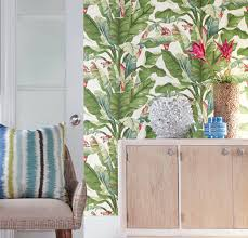 tropical wallpaper it s like being on vacation in your own home totalwallcovering