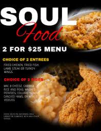 780 Soul Food Customizable Design Templates Postermywall