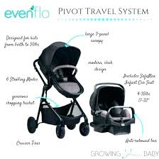 evenflo serenade infant car seat seats all in one pivot modular travel system review with se
