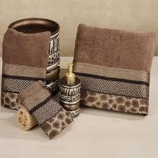 Bathroom Towel Decor Bathroom Eye Catchy Bathroom Design With Decorative Bath Towels