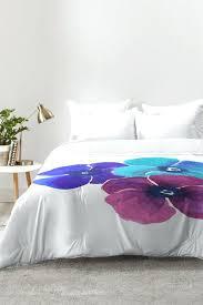 jewel toned bedding jewel tone pansies comforter set jewel tone bedding set