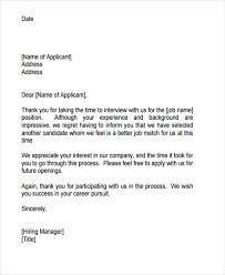 9 Job Application Rejection Letters Templates For The Applicants