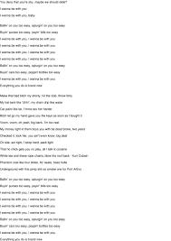 เนื้อเพลงของ I Wanna Be with You [Explicit Version] (อยากอยู่กับคุณ  [รุ่นที่ไม่เหมาะสม]) - DJ Khaled (DJ ศอลิห)