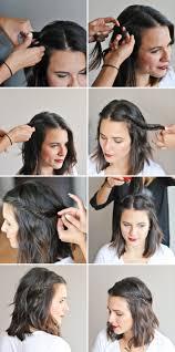 Comment Faire Une Coiffure Facile Cheveux Mi Longs