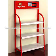 Powder Coating Rack China Lubricants display rack motor oil metal display durable 53