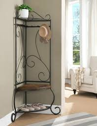 Coat Rack With Storage Baskets Fascinating Decoration Coat Rack And Storage Foyer Hanger Bench Metal Entryway