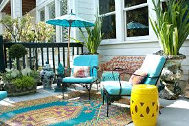 outdoor rugs bright