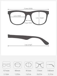 Eyeglass Frame Size Chart How To Buy Awesome 20 Dollar Prescription Glasses From China