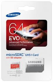 Купить <b>Карта памяти Samsung</b> microSDXC EVO Plus <b>64Gb</b> UHS-1 ...