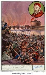 「1527 – Spanish and German troops sack Rome」の画像検索結果