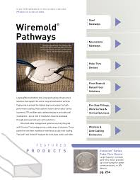 Wiremold Size Chart Wiremold Pathways