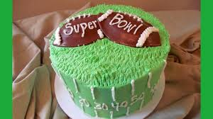 Super Bowl Cake Decorations Super Bowl Football Cake Made Simple with Jill YouTube 2