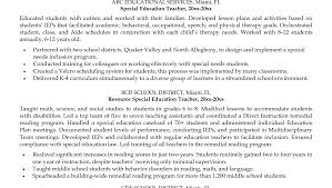 Nanny Experience On Resume Career Objective Resume Example
