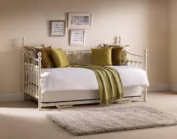 white metal furniture. Julian Bowen Versailles Daybed - Single, Ivory Coating: Amazon.co.uk: Kitchen \u0026 Home White Metal Furniture
