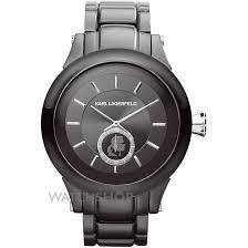 "men s karl lagerfeld chain watch kl1207 watch shop comâ""¢ mens karl lagerfeld chain watch kl1207"
