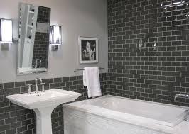 bathroom gray subway tile. Bathroom: Best Choice Of Bathroom Gray Subway Tile Wall Houzz On From F