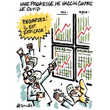 "Lacombe on Twitter: ""Cette semaine dans @MarianneleMag #Vaccin #Covid_19 # Pfizer #Bourse #Hold_Up #dessin #DessinDePresse #humour… """