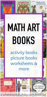 math art books for kids to inspire steam learning