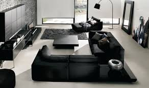 Modern Black Living Room Furniture Simple Modern Black Living Room Furniture 355 Harpohio