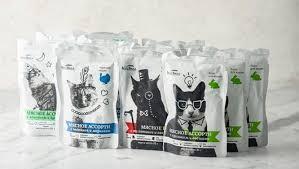 Корм для кошек «<b>Набор 4</b> вкуса» из ВкусВилл с доставкой на дом ...