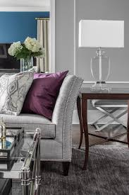 15 ways to style a grey sofa in your home d cor aid rh decoraid com purple sofa and loveseat black and gray sofa