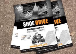 Shoe Drive Flyer Template Print On Behance