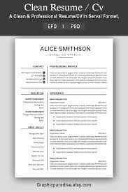 Proven Resumes Resume Template Professional Resume Template Instant