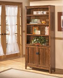 office bookcases with doors. Ashley Cross Island Bookcase Office Bookcases With Doors A