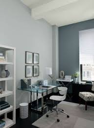 home office color. Blue Home Office Ideas - Serene And Streamlined Paint Colour Schemes Color