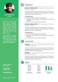 Free Professional Resume Templates Enchanting Orienta Free Professional Resume CV Template