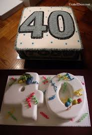 The Aspect Of Color And Age For Mens Birthday Cake Ideas Mens 40th