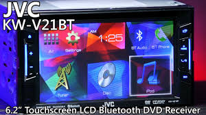 jvc kw v21bt double din bluetooth dvd receiver touchscreen jvc kw v21bt double din bluetooth dvd receiver touchscreen