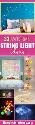 Cool Diy Projects 33 Awesome Diy String Light Ideas Diy Projects For Teens