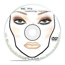 details about 1800 makeup face charts mac pro cosmetics manual training dvd cd b51