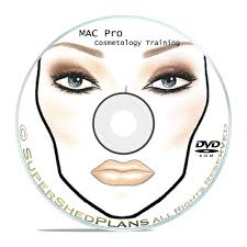 details about 1800 makeup face charts mac pro cosmetics manual training dvd cd b51