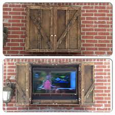 tv enclosures for outside astonishing outdoor cabinets comfortable cabinet design home ideas 23