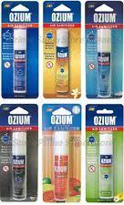 ozium scent air sanitizer freshener 08 car home office smoke odor eliminator best air freshener for office