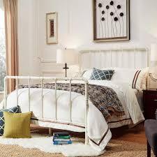 HomeSullivan Byer White Queen Bed Frame-40E422BQ-1WBED - The Home Depot