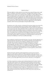 Example Of A Reflective Essay Simon Gipps Kent Top 10 How To Write A Nursing Reflective