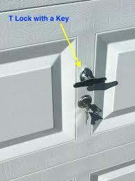 open garage door with broken spring how to open garage door manually from outside with key