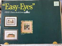 Easy Eyes Cross Stitch Charts From Dmc Various Amazon Com