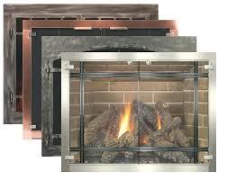 glass fireplace insert masonry of glass door fireplace insert glass fireplace doors by fireplace inc gas glass fireplace insert
