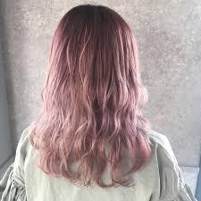旬な髪色ピンクアッシュで愛されガールへワンランクアップ Arine