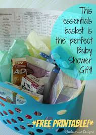 the perfect baby shower gift plus free printable