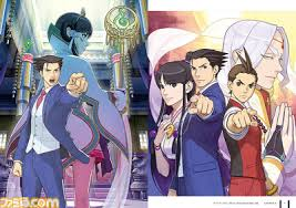 phoenix wright ace attorney spirit of justice artbook preview