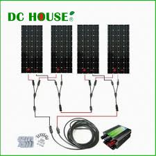 600watts complete kit 600w photovoltaic solar panel 24v system rv boat 4 150w solar panel system solar generators in alternative energy generators from home