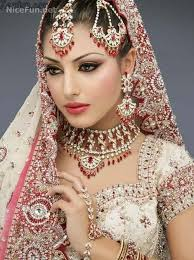 indian women indian north and south bridal makeup tutorial and bridal wears