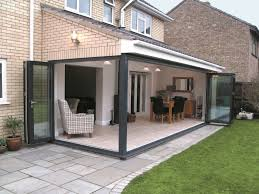 bi folding doors exterior tri fold glass doors folding patio doors